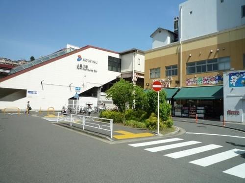 駅(1440m)