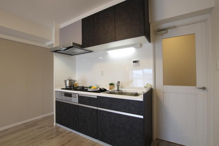 竹の塚ハイツ(403)のキッチン画像