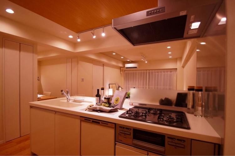 【ファミリー向け】千葉県市川市鬼高2丁目【リノベ物件】のキッチン画像