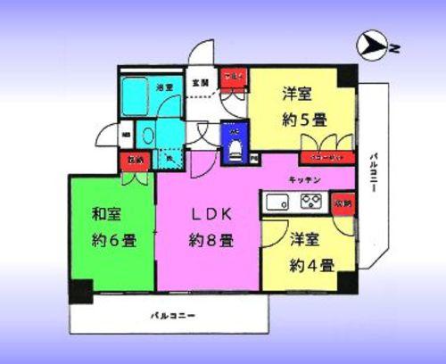 マイキャッスル竹ノ塚2の物件画像