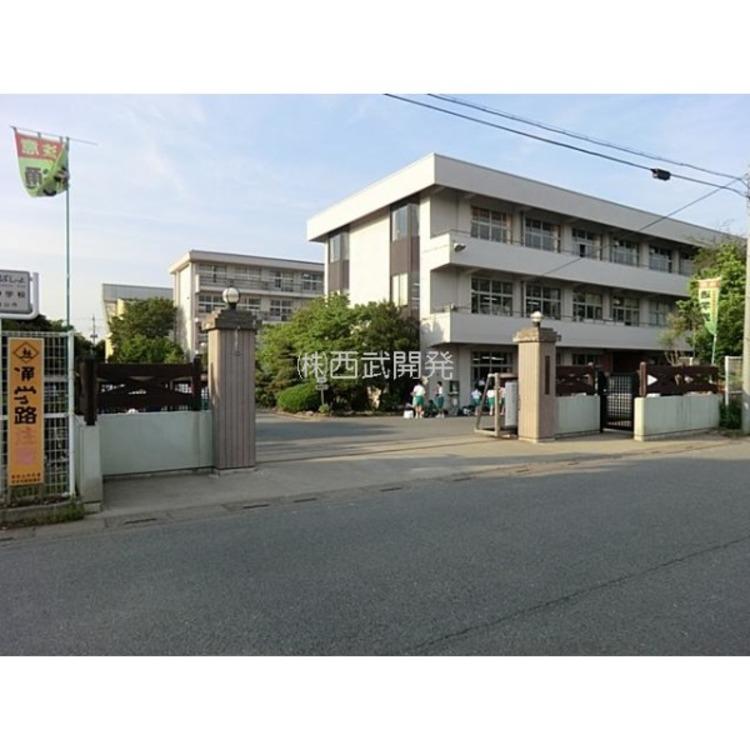 松山中学校(約1500m)