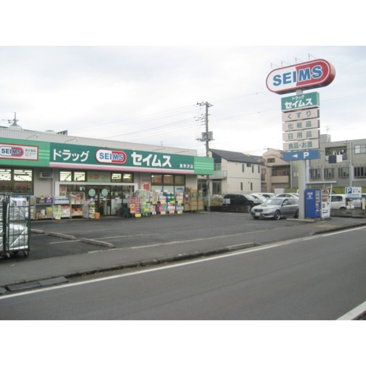 ドラッグセイムス東所沢店(約950m)