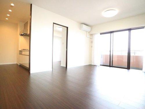 8階角住居の開放感~コアマンション東京ベントレイ~【Reform】の画像