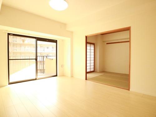 南向き日当たり良好な3LDK~サングレイス矢向~【renovation】の物件画像