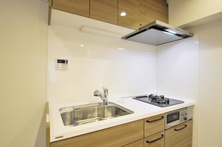 信濃町マンションのキッチン画像