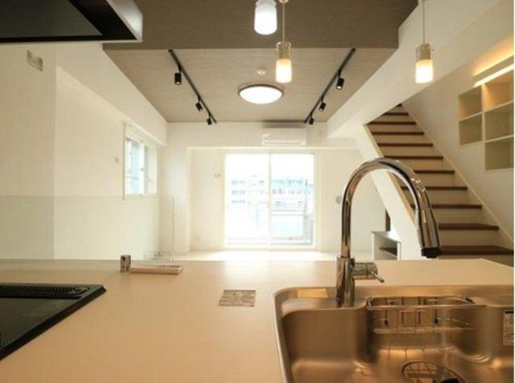 【renovation】ガーデンホーム南品川のキッチン画像