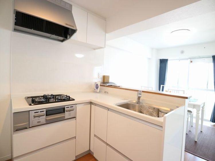 スカイパーク多摩川~9階部分、内装リノベーション済みのお部屋~のキッチン画像