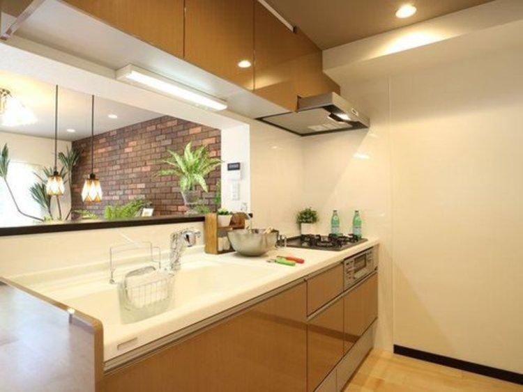 ヨーロピアンカフェ♪二子玉川駅徒歩8分  「瀬田サンケイハウス南棟」のキッチン画像