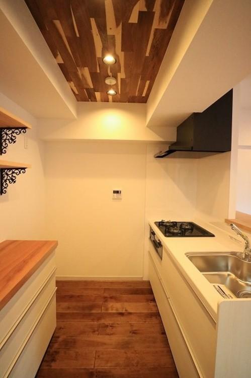 駅徒歩2分の南向き♪大森パークハイツ【renovation】のキッチン画像