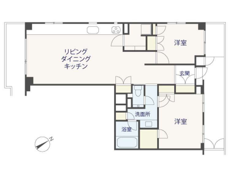 【renovation】目黒パークマンションの内観画像