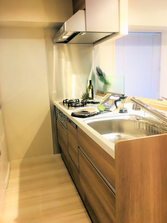 【本日ご見学可能】藤和八丁堀コープⅡのキッチン画像