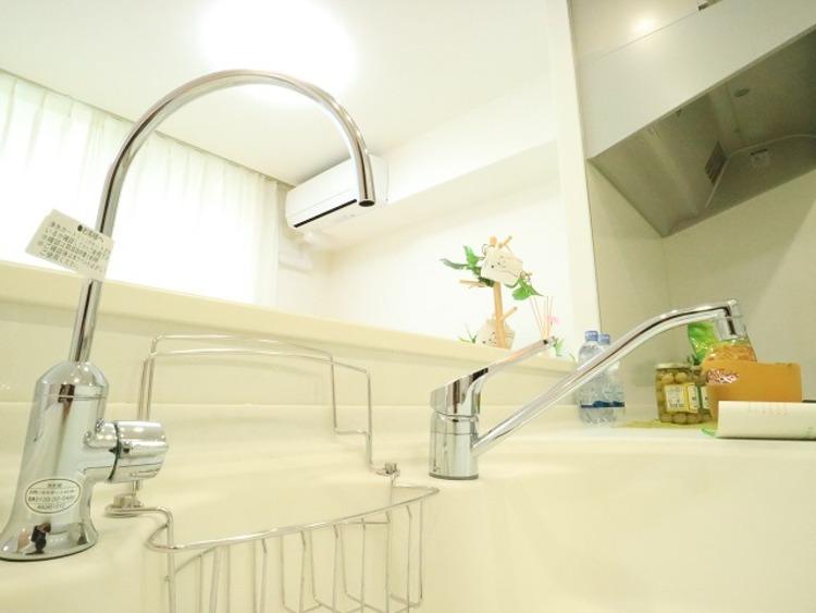 ペットと住める♪総戸数374戸■パークスクエアネオス横浜【reform】のキッチン画像