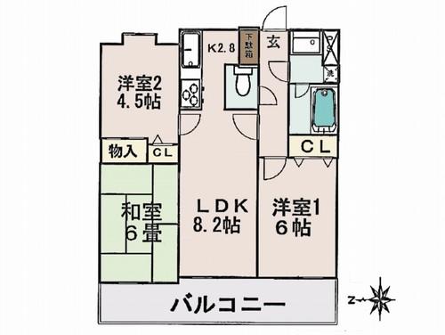 デュオ川口青木公園の物件画像