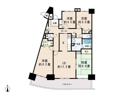 長峰杜の四番街第3号棟の画像