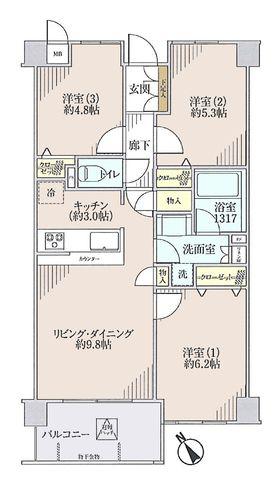 レクシオ聖蹟桜ヶ丘 の物件画像