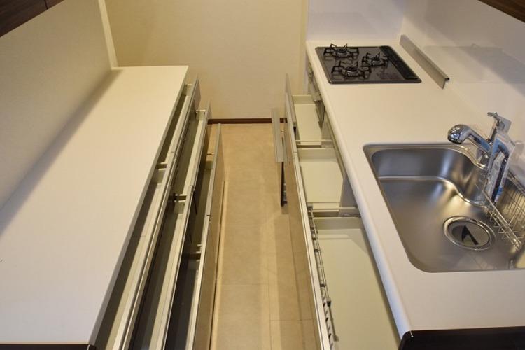 つつじヶ丘ハイムB棟のキッチン画像