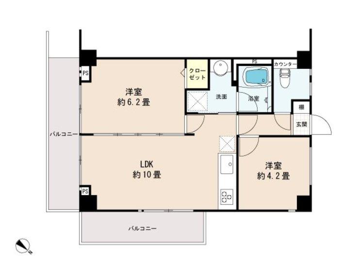 調布たま川台住宅の間取り画像