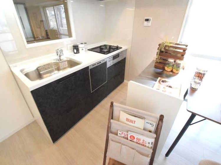 調布たま川台住宅のキッチン画像