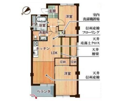 大倉山第2コーポラス C棟の物件画像