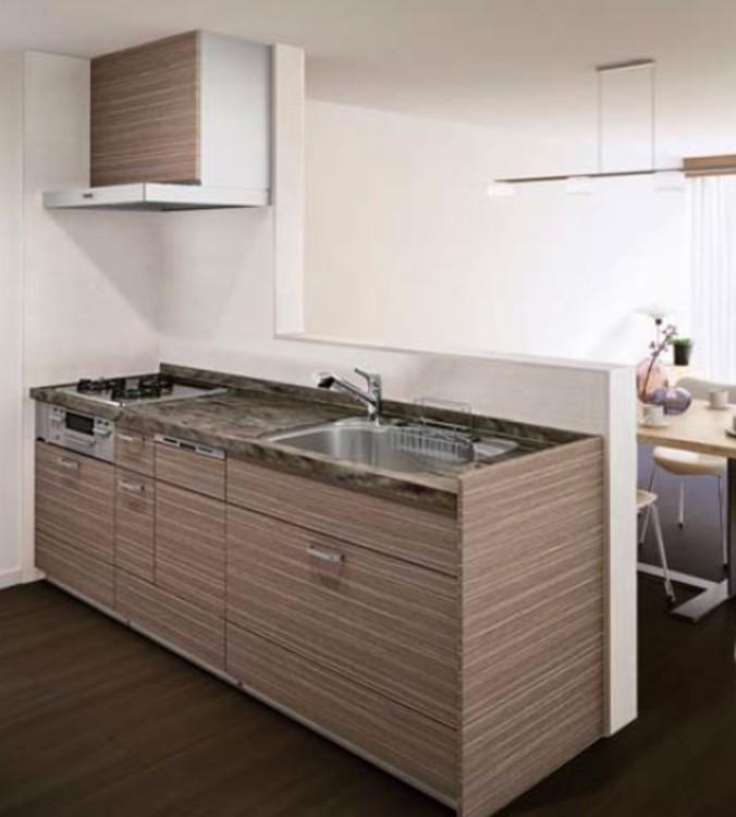 月島リバーハウスA棟のキッチン画像