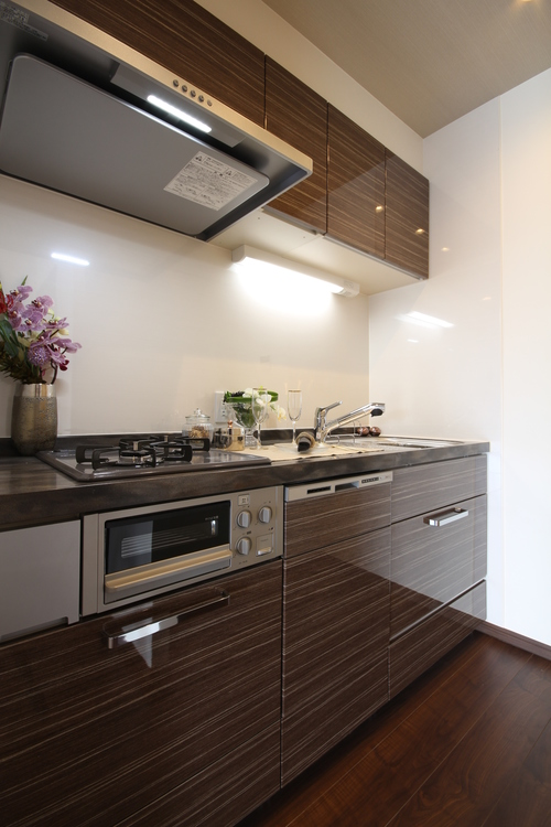 青葉台フラワーマンションのキッチン画像