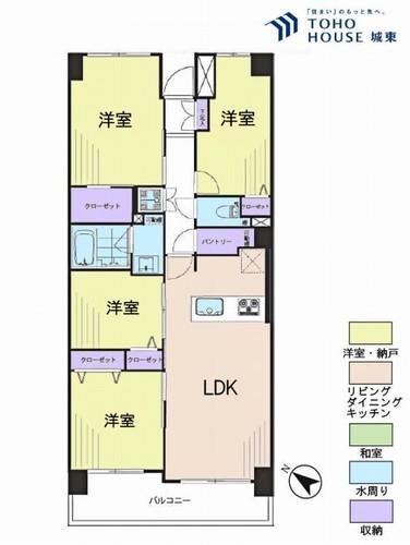 瑞江パークホームズ(7F)の物件画像