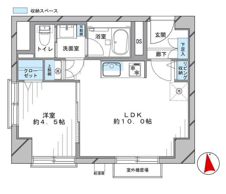 中野東豊マンション(205)の間取り画像