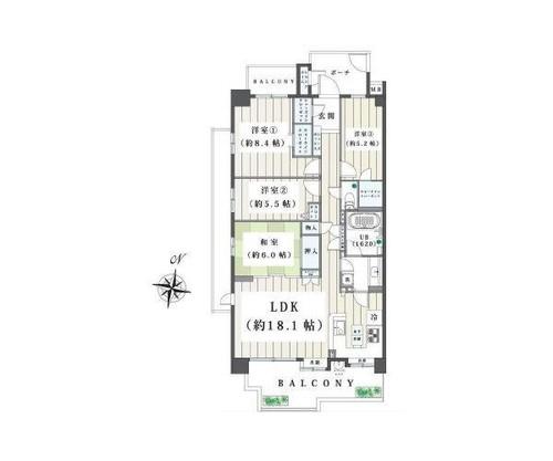 ラムーナ横浜戸塚フォレストリッジA棟の物件画像