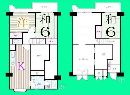 東武西新井東口サンライトマンションの物件画像