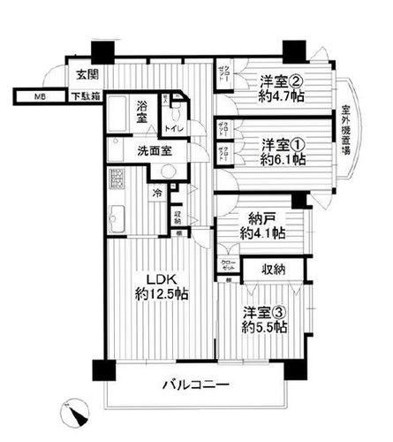 浦和太田窪パーク・ホームズの画像
