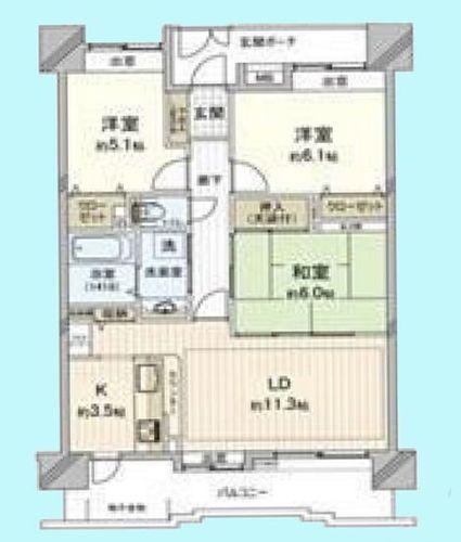 ローヤルシティ川口西青木の物件画像