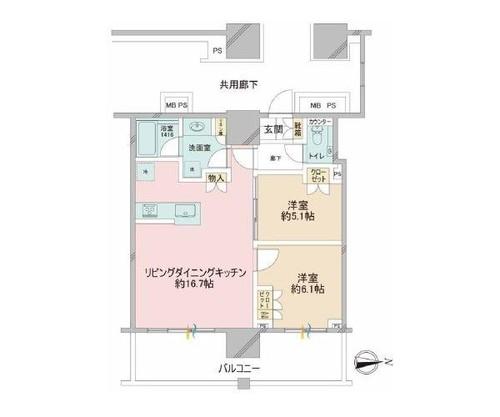 プラウドタワー武蔵小杉の物件画像