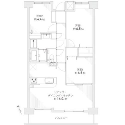 ファミール福島 15階の物件画像