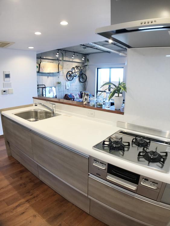 メイフェアパークス溝の口C棟のキッチン画像